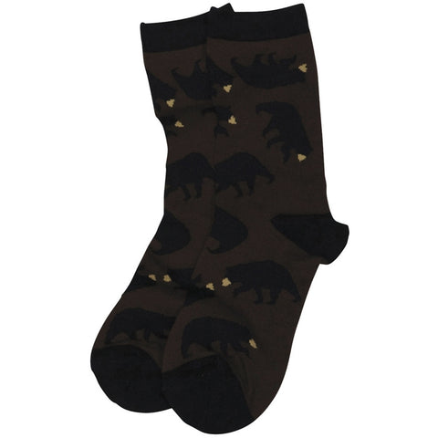 Timberland Bear Women's Crew Socks