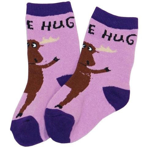 Moose Hug Infant Socks