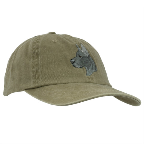 Great Dane Adjustable Baseball Cap