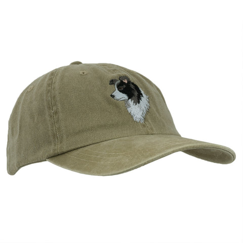 Border Collie Adjustable Baseball Cap