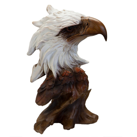 Eagle Bust Figurine