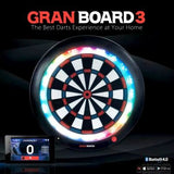 GRAN BOARD 3 BLUETOOTH ELECTRONIC DARTBOARD