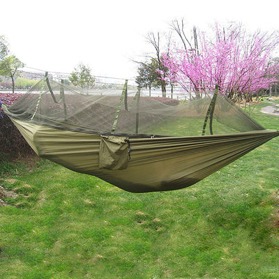 Portable Hammock Single-person With Mosquito Net. - Sixty Six Depot
