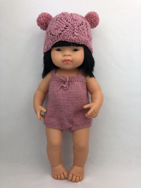 Boy Leg Knitted Romper