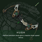 Hush - Legendary Bow