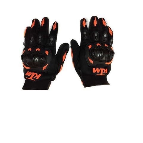 R.J.VON - KTM Riding Gloves (Black XL Size)