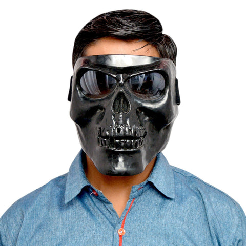 R.J.VON RJEXBLGR16 Unique Skull Face Mask Motorcycle Goggle