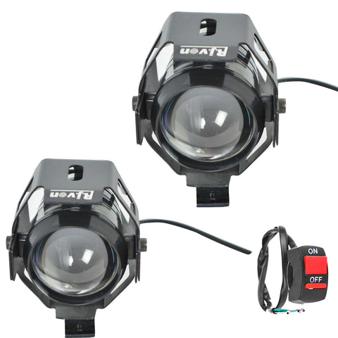 R.J.VON -Bike Fog light led (U 5, 15 W) Set of 2 Pcs.