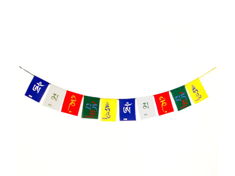 R.J.VON - Divy Mantra Tibetan Buddhist Prayer Flags For Car & Bikes