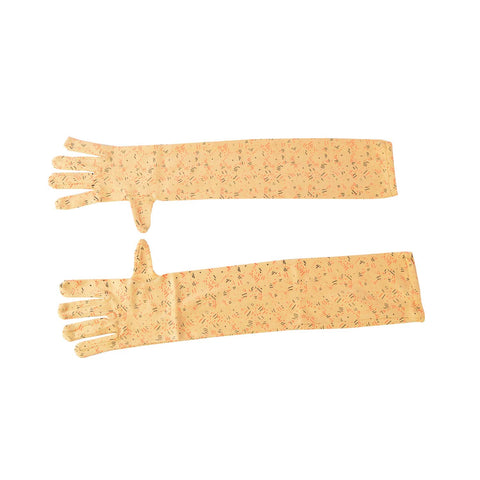 R.J.Von Brown Full Hand Gloves Cold & Sun Protective