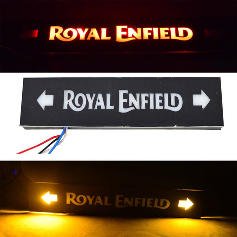 R.J.VON Royal Enfield LED Tail Light Logo