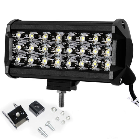 R.J.VON - RJEXPBNFL08 Supper Bright 24 Led Fog Lamp Light with switch