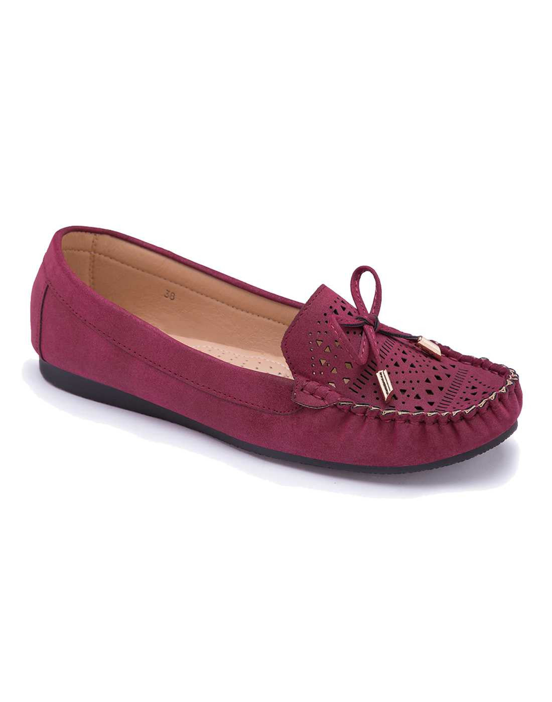 Classic Maroon Loafers