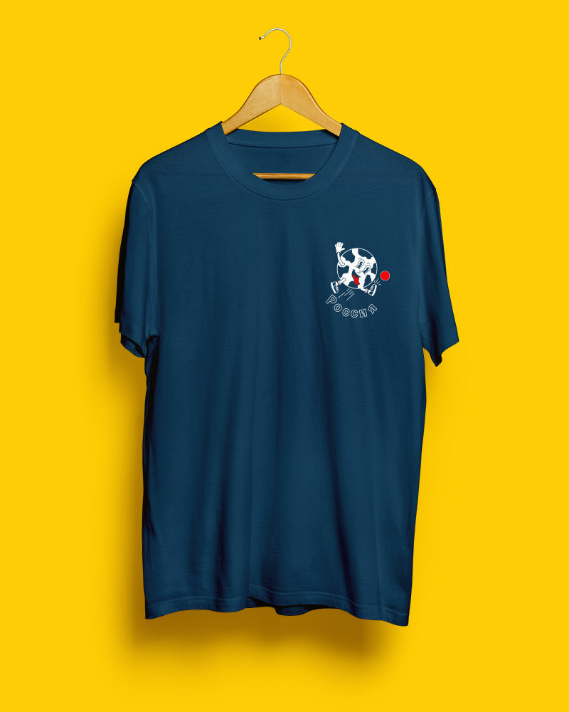 70% OFF SALE | Russia, Mundial 2018 | Navy Blue Unisex T-Shirt