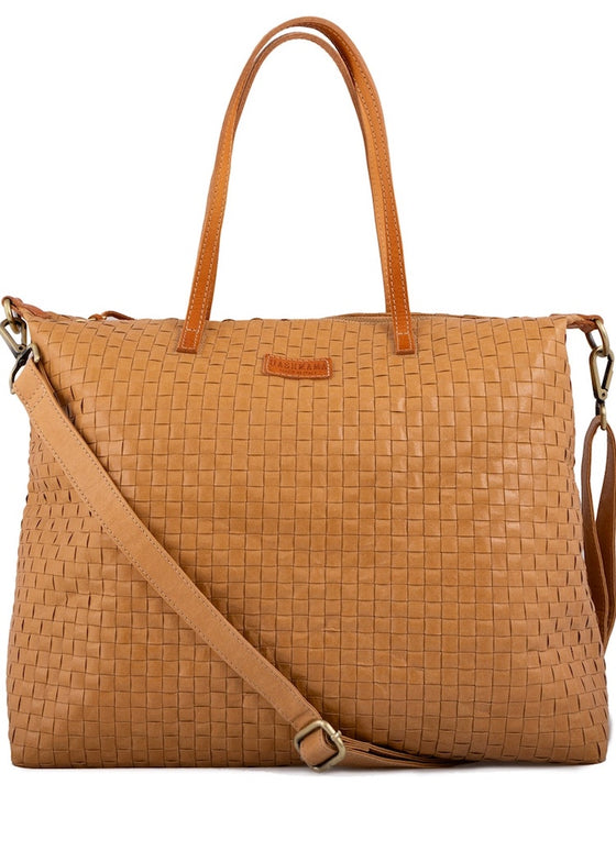 Uashmama | Gemma | Large Camel Bag