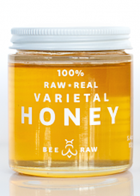 Bee Raw | Maine Wild Raspberry Honey | 5.4 oz