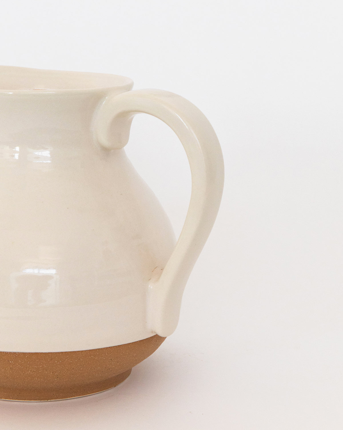 Dipped Beige Pitcher