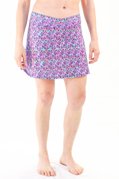 Slope Skort | Mtn Galaxy - Kind Apparel