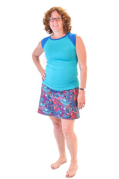 Slope Skort | Sea-riously - Kind Apparel