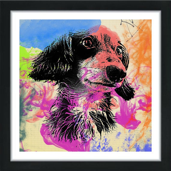 Custom Dog Art Painting