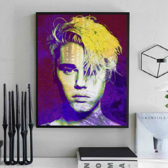 Justin Bieber Wall Art Artwork Poster