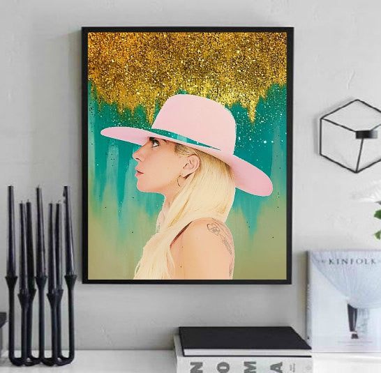 Lady Gaga Art for sale