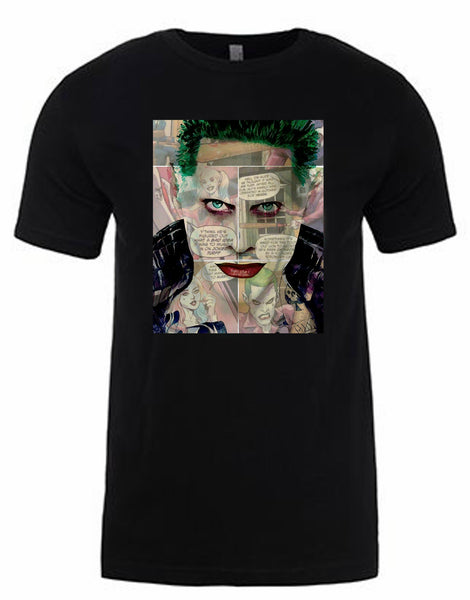 Jared Leto Joker T-Shirt by Lisa Jaye
