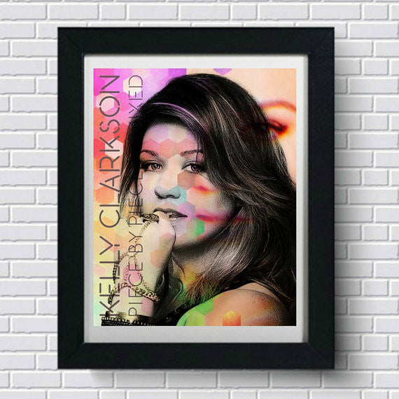 Kelly Clarkson Art Print, Wall Art, Poster, Artwork, Canvas