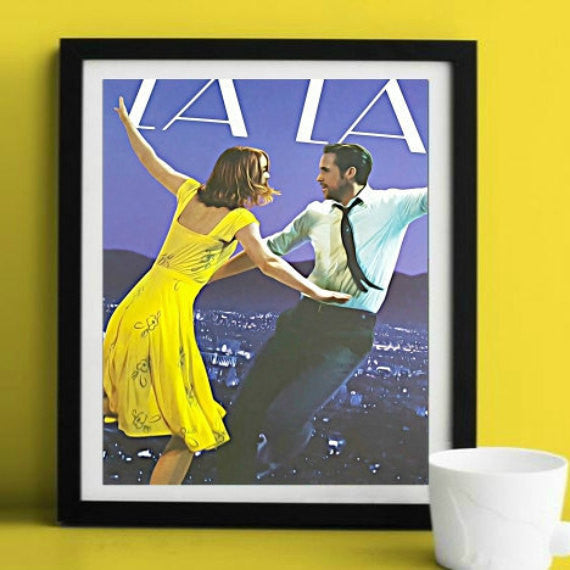 La La Land Original Artwork for Sale