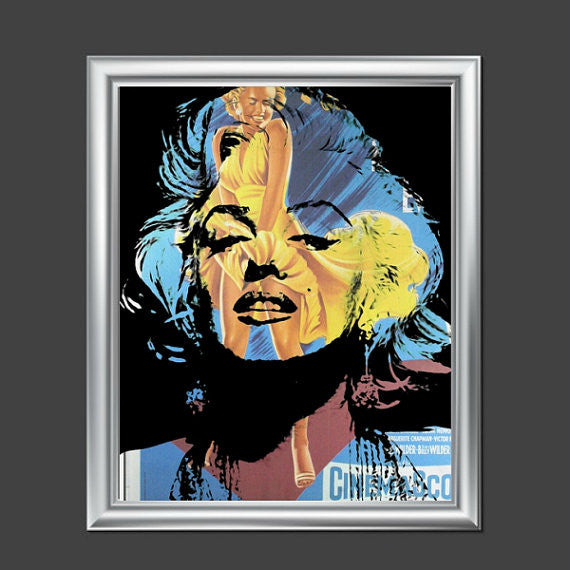 Marilyn Monroe Wall Art Painting Artwork Poster Canvas