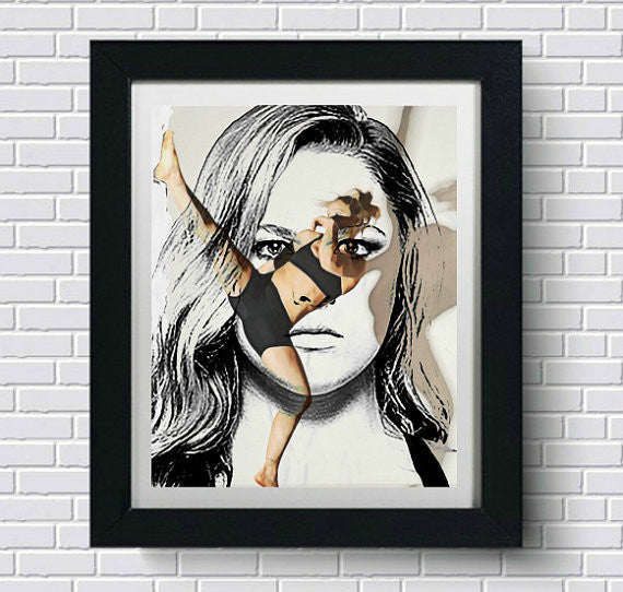 Ronda Rousey Wall Art Artwork Poster