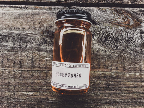 "<b>WESLEY BRIGHT & THE HONEYTONES</b><br>3 oz. Jar Of Honey<br><font color=""FF0000"">US BUYERS ONLY DUE TO EXPORT RESTRICTIONS</font>"