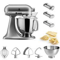 Küchenmaschine - KitchenAid 4,8l Artisan Pastalover Set
