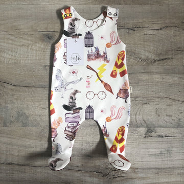 Swish and Flick footed Romper