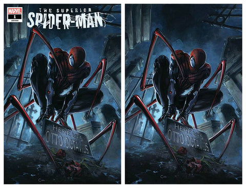 SUPERIOR SPIDER-MAN #1 CLAYTON CRAIN TRADE/VIRGIN VARIANT SET LIMITED TO 750 SETS