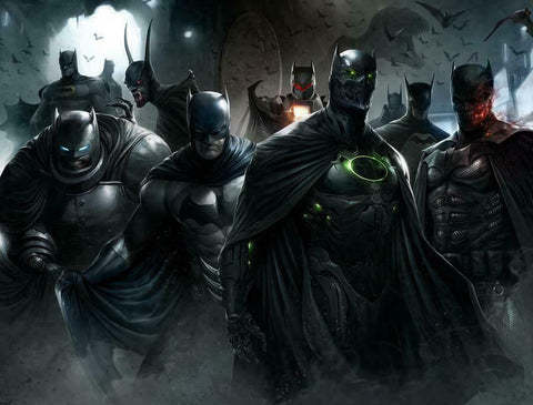 DETECTIVE COMICS #1000 FRANCESCO MATTINA WRAPROUND VIRGIN VARIANT