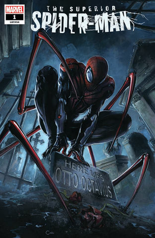 SUPERIOR SPIDER-MAN #1 CLAYTON CRAIN TRADE DRESS VARIANT LIMITED TO 1500