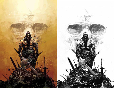 CONAN THE BARBARIAN #1 GERARDO ZAFFINO COLOUR/INKED VIRGIN VARIANT LIMITED TO 500 SETS