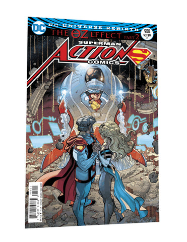 ACTION COMICS #988 LENTICULAR ED (OZ EFFECT)
