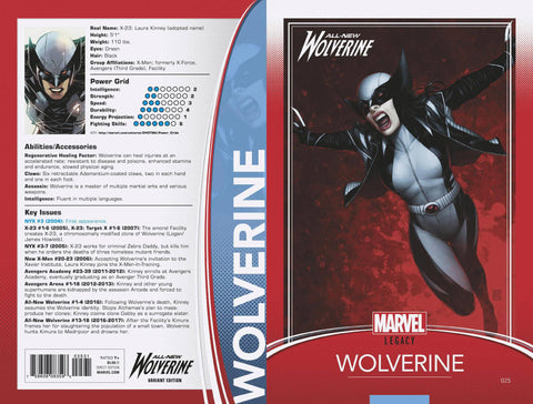 ALL NEW WOLVERINE #25 JTC TRADING CARD VARIANT