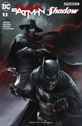 23/08/2017 BATMAN THE SHADOW #5 (OF 6) MATTINA VAR ED