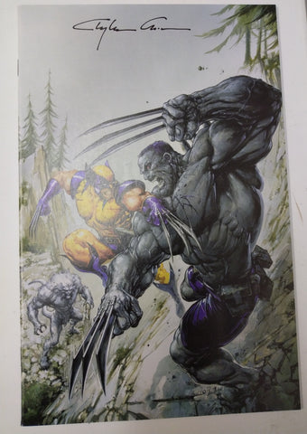 WEAPON H #1 CLAYTON CRAIN HULK 181 VIRGIN VARIANT LIMITED TO 1000 COPIES SIGNED BY CLAYTON CRAIN VF