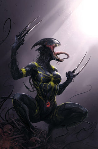 ALL NEW WOLVERINE #18 FRANCESCO MATTINA VENOMIZED VARIANT - Sad Lemon Comics