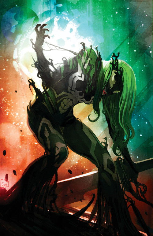 GAMORA #4 STEPHANIE HANS VENOMIZED VARIANT - Sad Lemon Comics