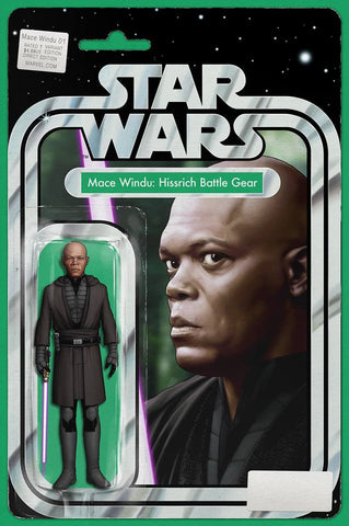 STAR WARS JEDI REPUBLIC MACE WINDU #1 EXCLUSIVE JOHN TYLER CHRISTOPHER ACTION FIGURE VARIANT LTD TO 3000