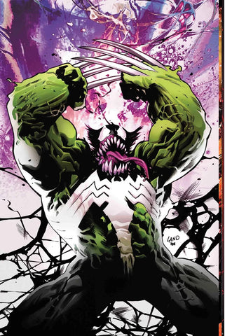 09/2017 WEAPON X #8 VENOMIZED WEAPON H VARIANT COVER GREG LAND