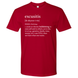 Excusitis T Cotton Mens