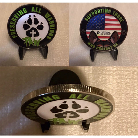 P.A.W. Collectible Challenge Coin