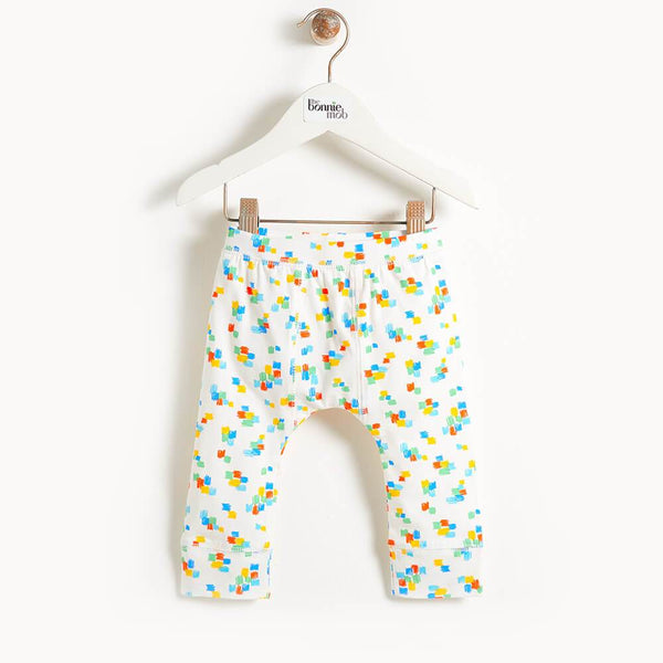DAVIS - Printed Kids Legging - Multicolour
