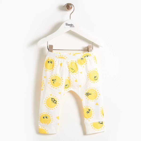 DAVIS - Printed Kids Legging - Sunshine Print